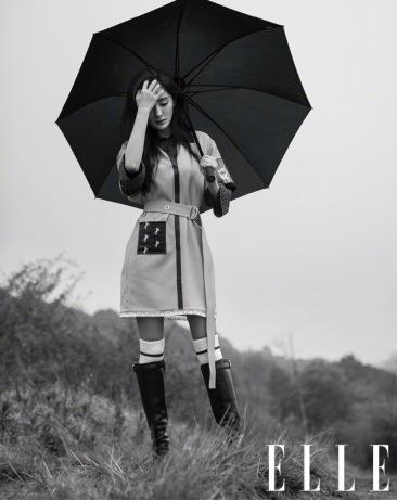 Yang Mi for ELLE China July 2018-8