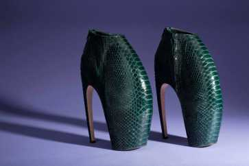 Alexander McQueen Armadillo shoes-1