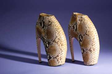 Alexander McQueen Armadillo shoes