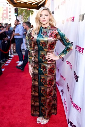 Chloe Moretz in Stella McCartney Fall 2018-2