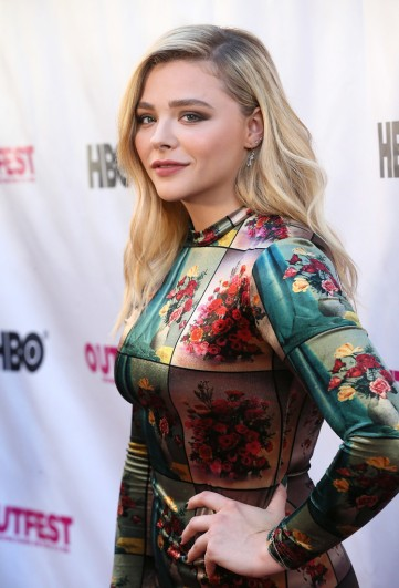 Chloe Moretz in Stella McCartney Fall 2018-3