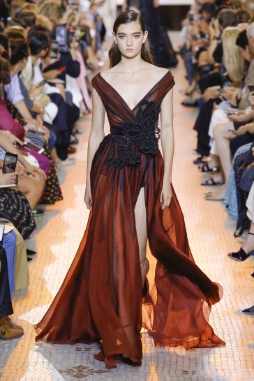 Elie Saab Fall 2018 Couture Look 38