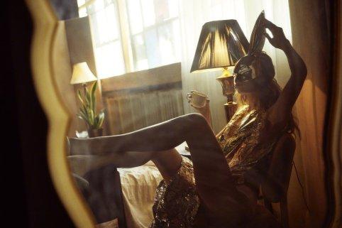 Gigi Hadid for Love Magazine Fall 2018-1