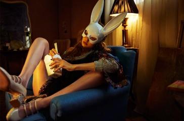 Gigi Hadid for Love Magazine Fall 2018-7