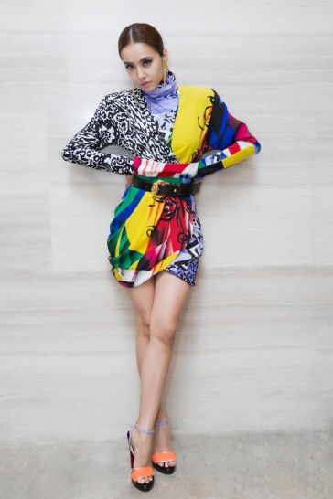 Jolin Tsai in Versace Fall 2018