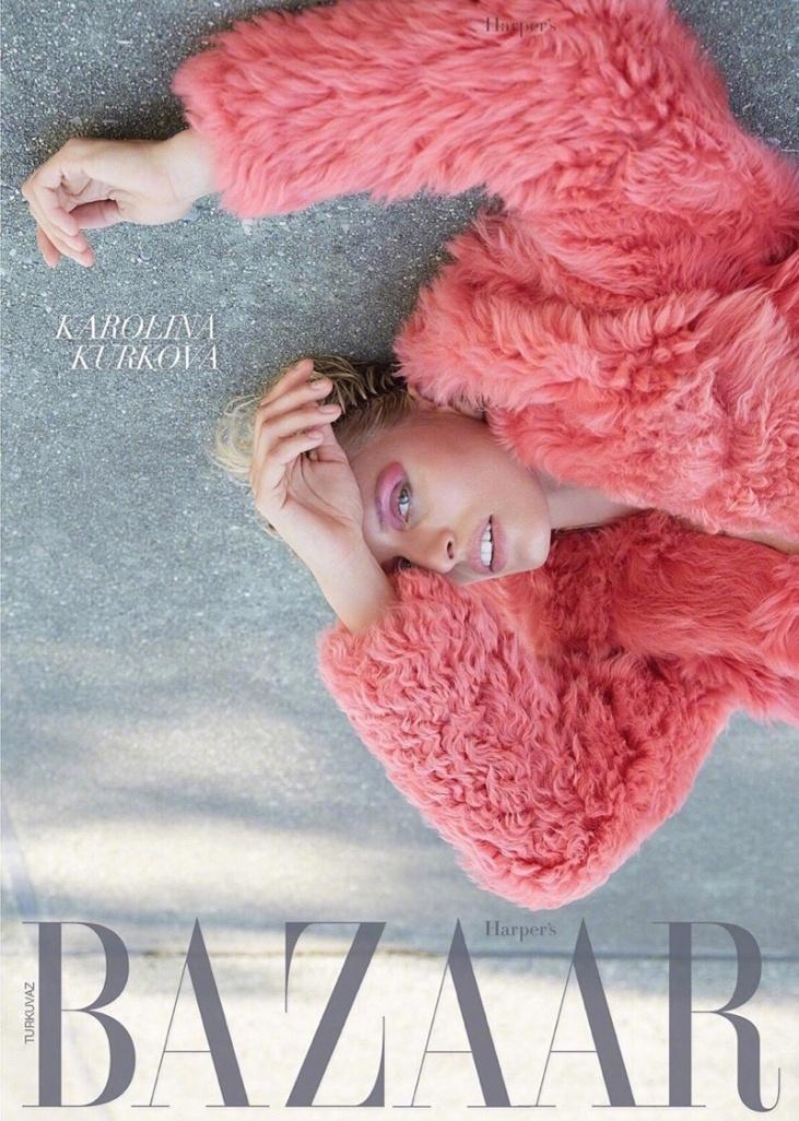 Karolina Kurkova X Harper's Bazaar Turkey August 2018-1