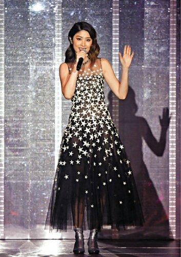 Kelly Chen in Oscar de la Renta Pre-Fall 2018-3