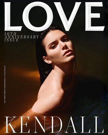 Kendall Jenner for Love Magazine Fall Winter 2018 Cover