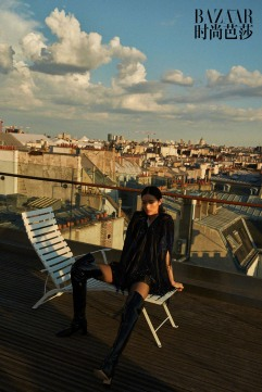 Liu Wen for Harper's Bazaar China August 2018-11