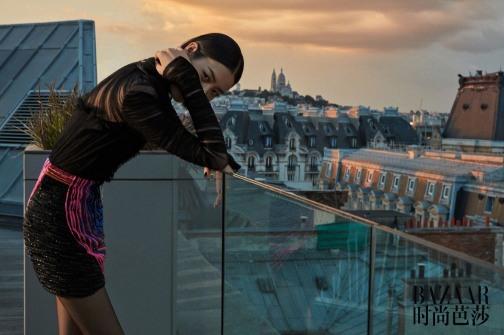 Liu Wen for Harper's Bazaar China August 2018-6
