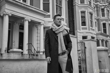 Luke Evans for L'Officiel Homme Kazakhstan Spring Summer 2018-2