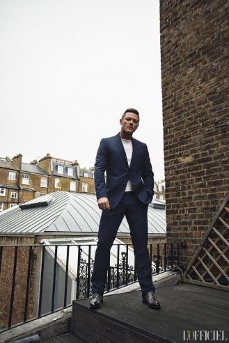 Luke Evans for L'Officiel Homme Kazakhstan Spring Summer 2018-8