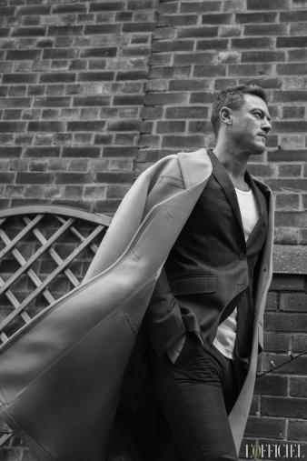 Luke Evans for L'Officiel Homme Kazakhstan Spring Summer 2018-9