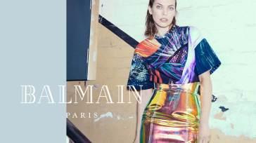 Milla Jovovich for Balmain Fall Winter 2018 Campaign-10
