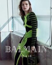 Milla Jovovich for Balmain Fall Winter 2018 Campaign-5