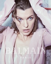 Milla Jovovich for Balmain Fall Winter 2018 Campaign-8