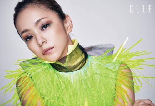 Namie Amuro ELLE HK August 2018-3