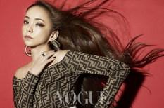 Namie Amuro Vogue Taiwan July 2018-2