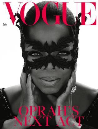 Oprah Winfrey Vogue UK August 2018 Cover B