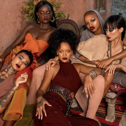Rihanna Fenty Beauty Moroccan Spice Campaign-6