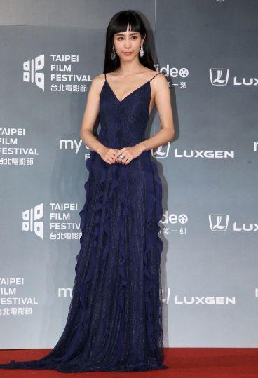 Wen Chen-Ling in Blumarine Fall 2018