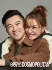Alec Su & Zhao Wei for Cosmopolitan China September 2018-1