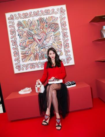 Angelababy in Dior Spring 2018-2