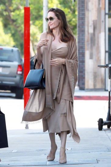 Angelina Jolie in Ryan Roche Fall 2018-3