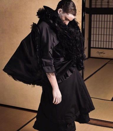 Ansley Gulielmi for Vogue Japan Fashion Story October 2018-9