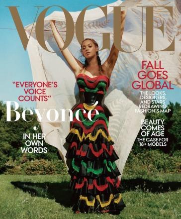 Beyoncé for Vogue US September 2018 Cover B
