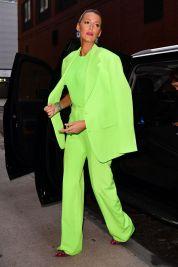 Blake Lively in Versace Spring 2019 Menswear-6