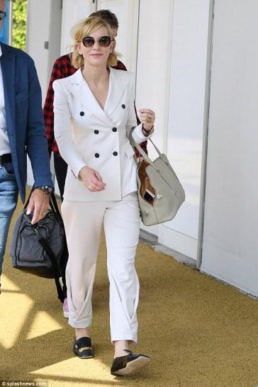 Cate Blanchett in Giorgio Armani Spring 2017 Menswear-5