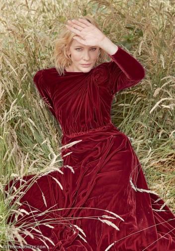 Cate Blanchett X Harper's Bazaar UK October 2018-4