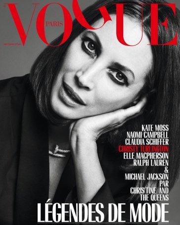 Christy Turlington for Vogue Paris September 2018