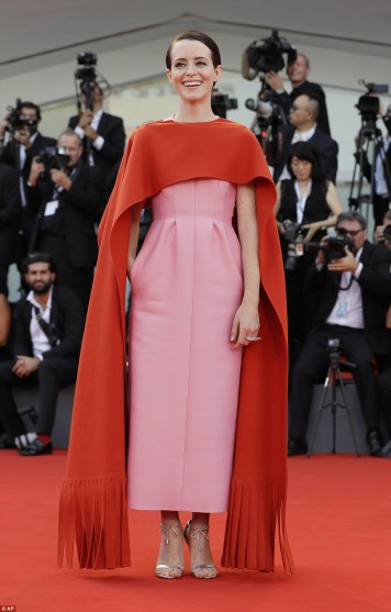 Claire Foy in Valentino Fall 2018 Couture