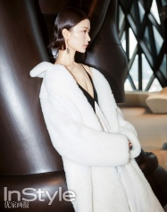 Du Juan for InStyle China August 2018-3