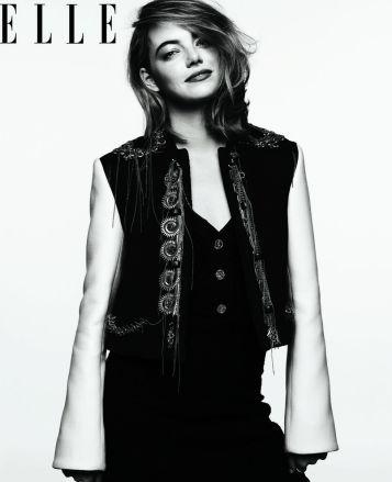 Emma Stone for ELLE September 2018-2