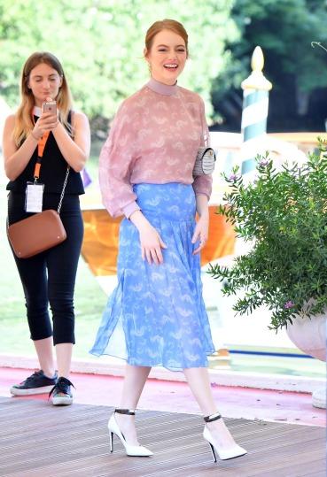 Emma Stone in Fendi Resort 2019-1