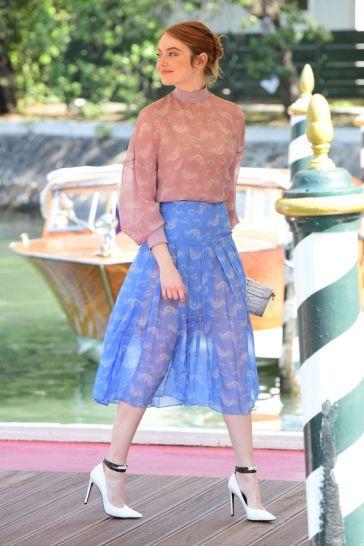 Emma Stone in Fendi Resort 2019-2
