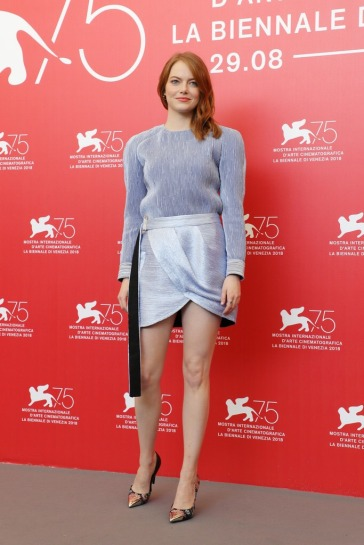 Emma Stone in Louis Vuitton Resort 2019