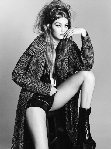 Gigi Hadid for Vogue Brazil September 2018-4