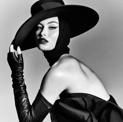 Grace Elizabeth X Vogue Brazil August 2018-6