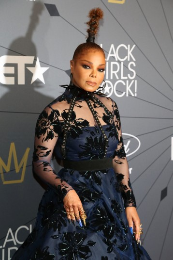 Janet Jackson in Christian Siriano Fall 2018-2