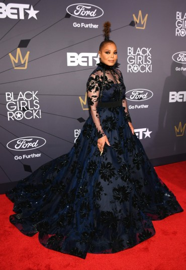 Janet Jackson in Christian Siriano Fall 2018