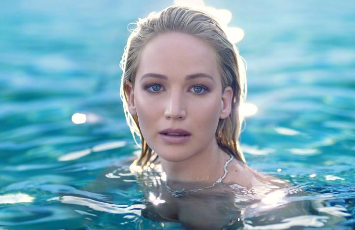Jennifer Lawrence for Dior Joy Fragrance 2018 Campaign-3