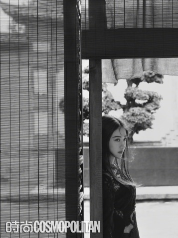 Jing Tian for Cosmopolitan China September 2018-1