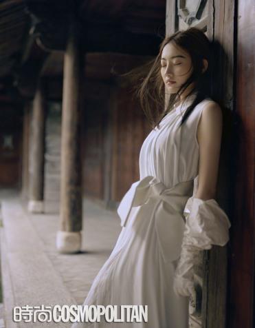 Jing Tian for Cosmopolitan China September 2018-2