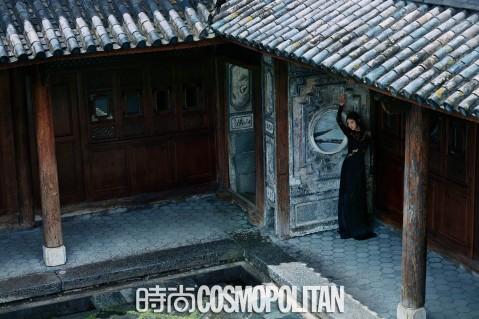 Jing Tian for Cosmopolitan China September 2018-3