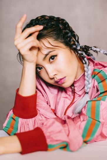 Jolin Tsai in Gucci Pre-Fall 2018-6