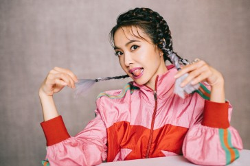 Jolin Tsai in Gucci Pre-Fall 2018-8
